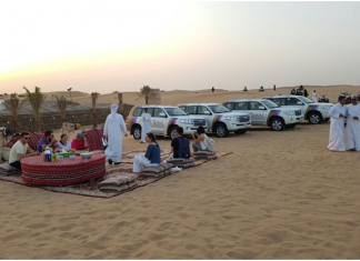 Sharjah desert safari a tourism spot