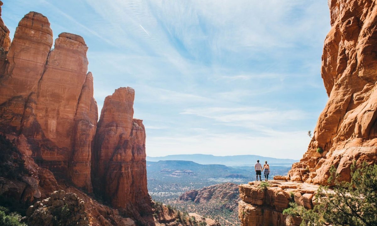 Hiking in Sedona, Red Rock Country